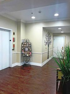 Charter Senior Living of Edgewood foyer